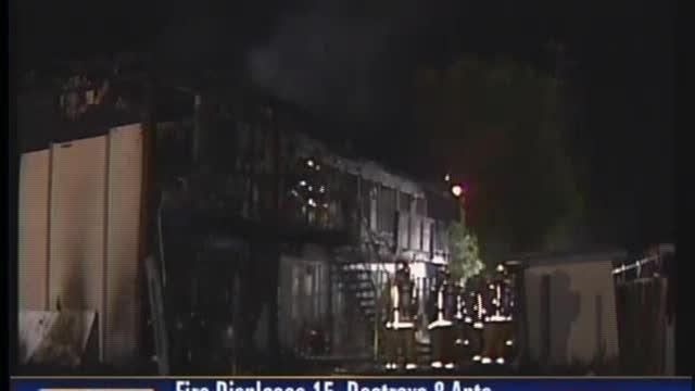 15 Displaced By Fire