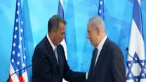 "Raw: Boehner in Israel: ""friendship Strong"""