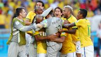 Brazil goes wild after shootout win