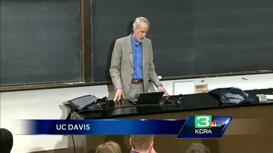 UC Davis teacher awarded for being exceptional