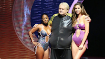 Louie Anderson gets eliminated from splash with head high