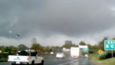 Video Shows Ominous Clouds Over Winston-Salem