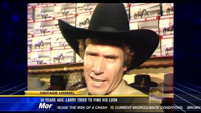 Vintage Himmel: 30 years ago, Larry tried to find his look