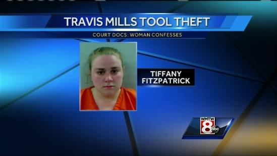 Woman confesses to stealing tools from construction site