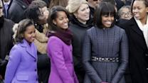 The Inaugural Fashion of Michelle, Sasha and Malia Obama