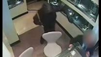 Dramatic CCTV footage shows jewellery raid