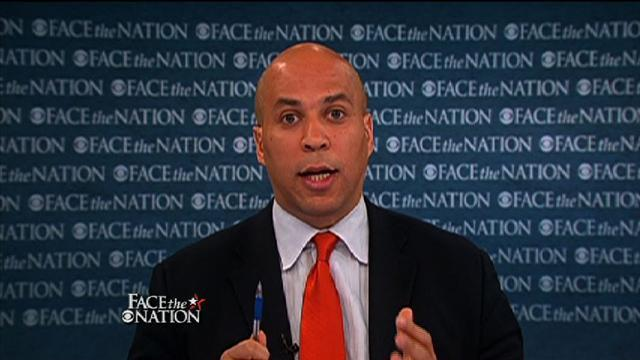 Booker: Clearly I'm interested in Senate seat