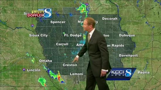 Video-Cast: Tracking 3 days of storms