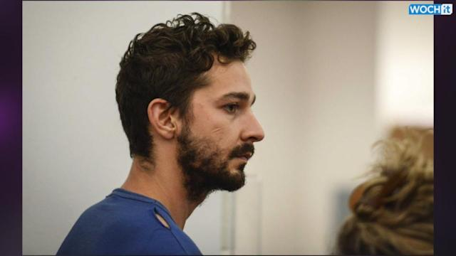 Shia LaBeouf -- Books It For Alcohol Treatment