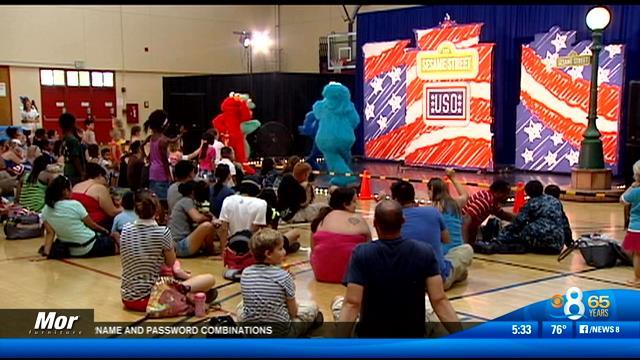 Special 'Sesame Street' show for military kids