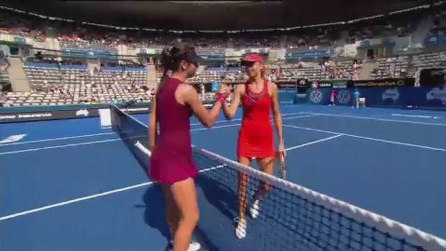 Halep and Hantuchova suffer shock defeats in Sydney