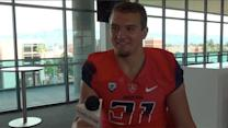Scooby Wright at Arizona media day