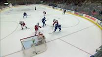 Joffrey Lupul goes top-shelf from wide angle