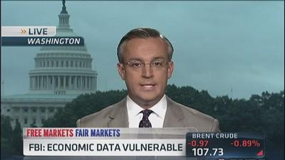 FBI says economic data is vulnerable