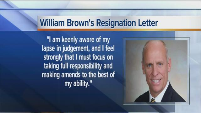 William Brown resigns amid rental property scandal