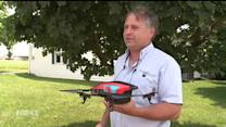 Using Drones and iPads to Improve Farms