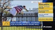 CNBC update: WH jumper faces criminal charges