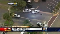 Four Suspects In Custody After Brief Police Chase