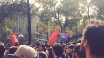 Student Protesters Call for Education Reform in Santiago