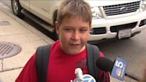 Students React To School Closing On Last Day