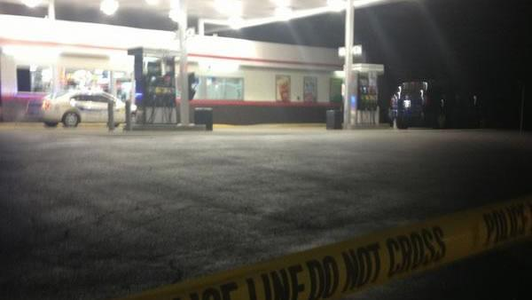 Police investigate Garner gas station shooting