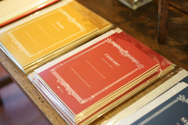 東京設計文具 yuruliku tsubame筆記本