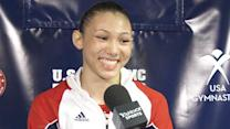 Kyla Ross on her 'nerve-wracking' wait