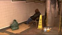 Rising Homeless Problem On Display In Herald Square Subway Tunnel