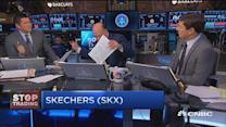 Cramer's Stop Trading: Amazon numbers for Skechers