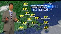 WBZ AccuWeather Evening Forecast For April 17