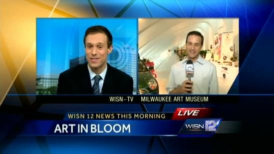 Art In Bloom at Milwaukee Art Museum