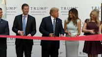 Trump's Hotel Opening Overshadowed by Gingrich Interview