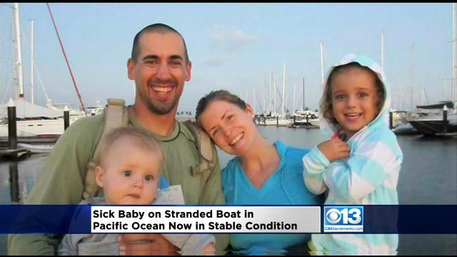 Navy Warship En Route To Sick Toddler On Sailboat