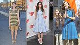 Emmy Rossum's Gorgeous Dress Streak, from Flapper to Flared!