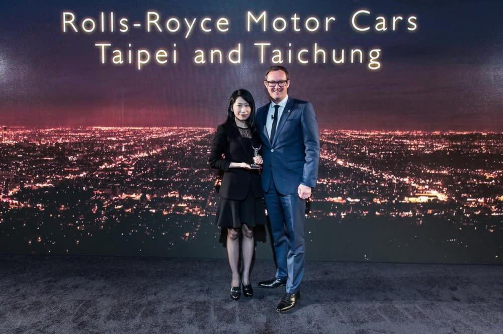 ROLLS-ROYCE MOTOR CARS台灣總代理盛惟股份有限公司於全球經銷商大會榮膺三項大獎