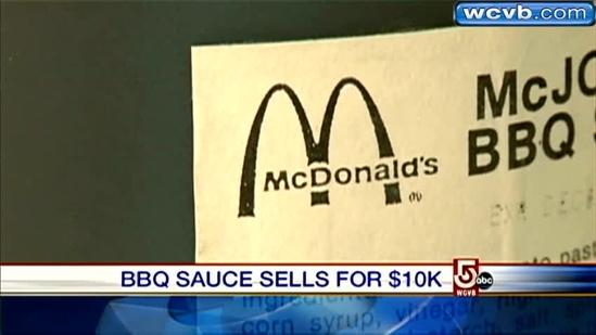 'Vintage' Michael Jordan BBQ sauce sells for thousands