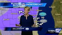 Sally Severson's morning forecast