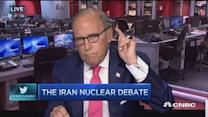 Kudlow: Awful deal, Iran coming for us