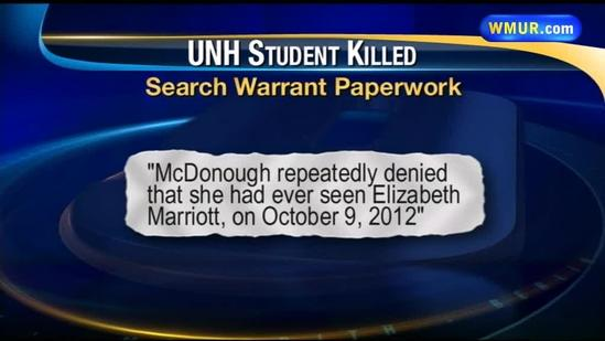 More documents unsealed in UNH student's death