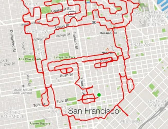 San Francisco's running artist [Video]