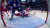 Gustavsson dives for incredible stick save