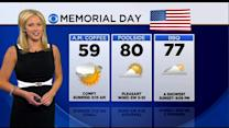 WBZ Accuweather Evening Forecast For May 24