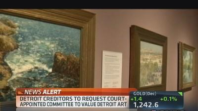 Detroit creditors request committee to value art