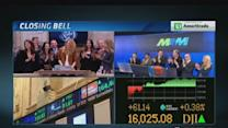 Sports Illustrated models on NYSE Floor
