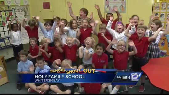 9/26 Shout Out: Mrs. Kern, Holy Family School in Whitefish Bay