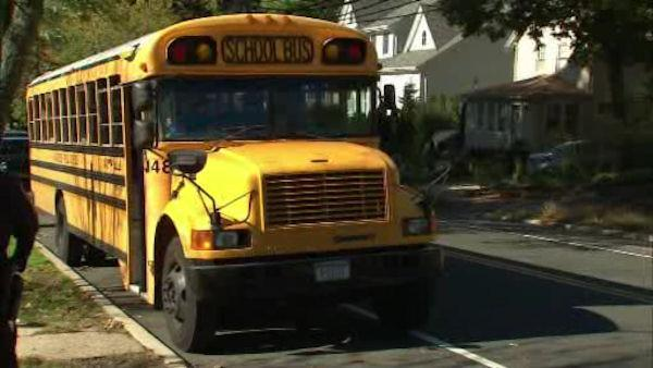 Long Island school bus driver charged with DWI