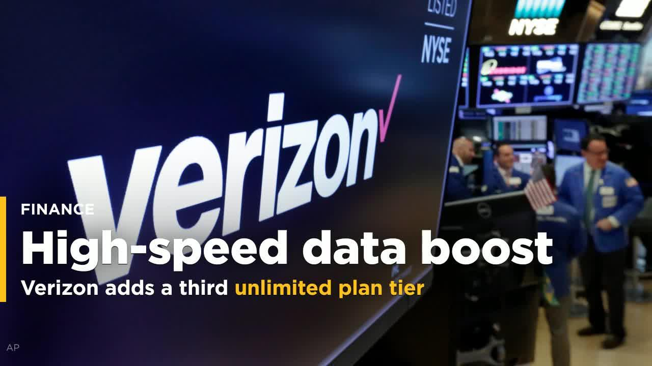 Verizon Is Adding A Third Unlimited Plan Tier With Even More High