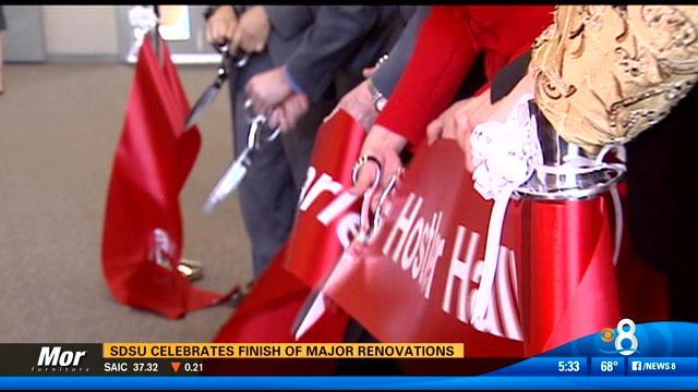 SDSU celebrates completion of major renovations
