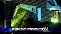 Road Rage Incident Ends With Car Into House