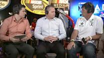 2013 NASCAR Media Day: Michael Waltrip